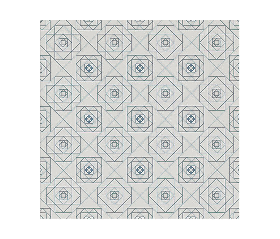 Frame Geometric Floor Tile by Refin | Ceramic tiles
