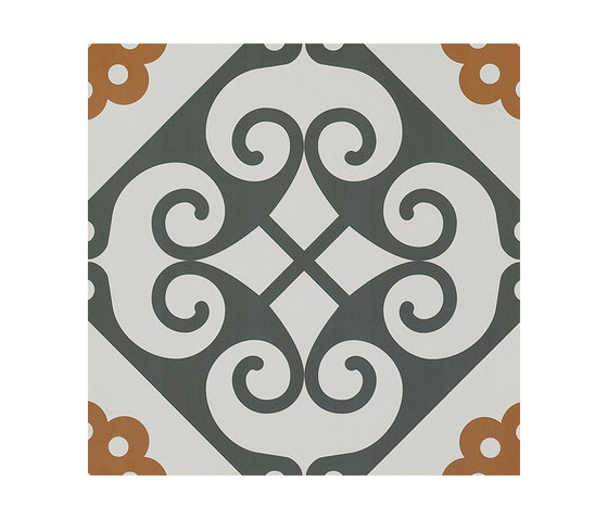 Frame Majolica Floor Tile by Refin | Ceramic tiles
