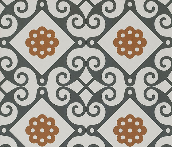 Frame Majolica Floor Tile by Refin | Floor tiles