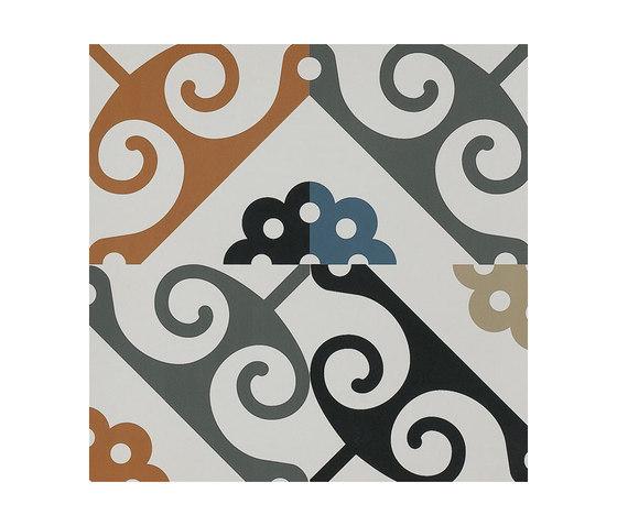 Frame Majolica Floor Tile by Refin | Floor tiles
