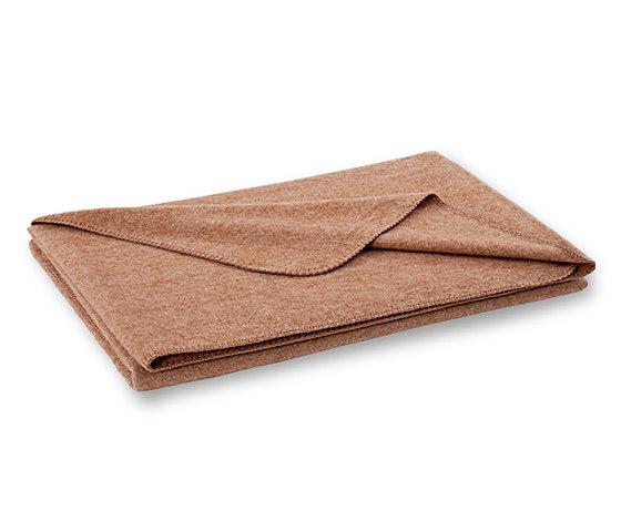Nele blanket caramel by Steiner | Plaids / Blankets