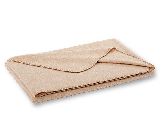 Nele blanket latte by Steiner | Plaids / Blankets