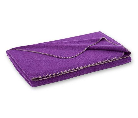 Alina blanket dahlie by Steiner | Plaids / Blankets