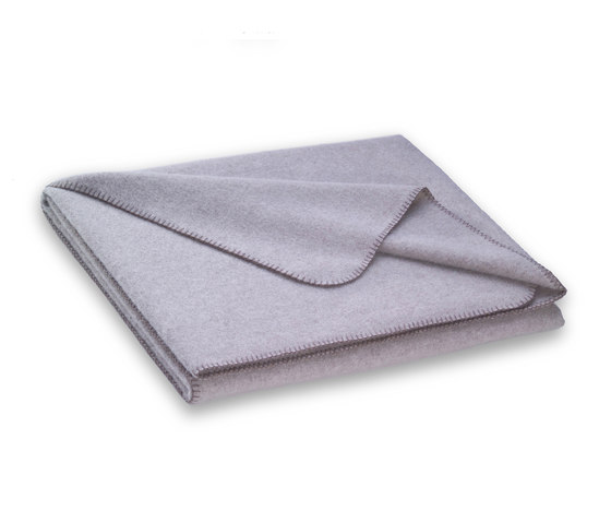 Nora Blanket sand by Steiner | Plaids / Blankets