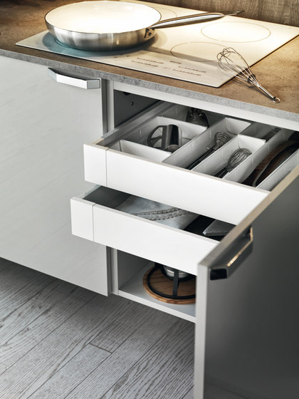 Ariel | Composition 2 by Cesar Arredamenti | Fitted kitchens