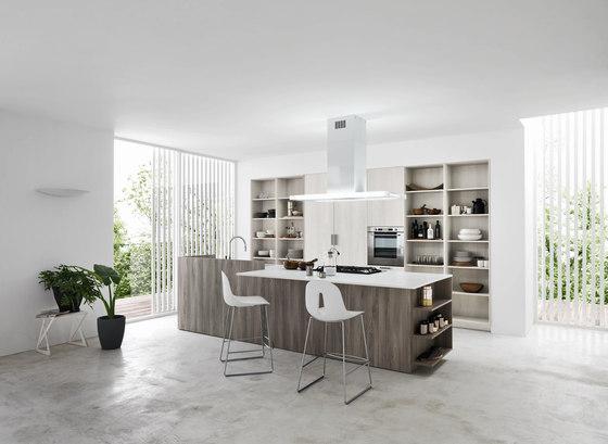 Ariel | Composition 3 von Cesar Arredamenti | Einbauküchen