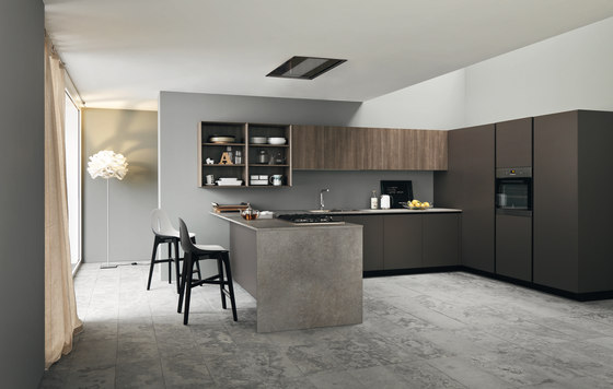 Ariel | Composition 4 by Cesar Arredamenti | Fitted kitchens