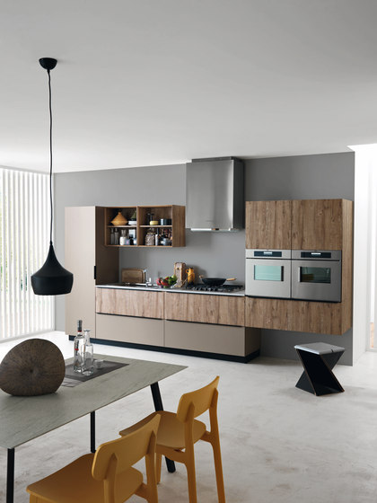 Ariel | Composition 5 by Cesar Arredamenti | Fitted kitchens