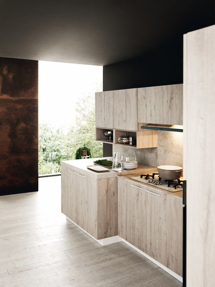 Ariel | Composition 6 by Cesar | Fitted kitchens