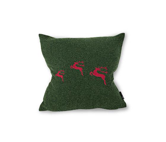 Lotte Cushion wald/erdbeer by Steiner | Cushions