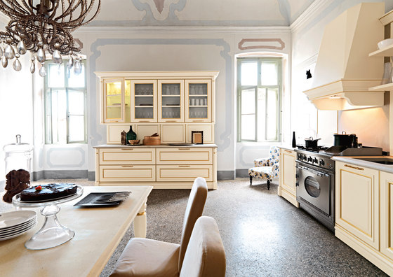 Elite | Composition 4 by Cesar | Fitted kitchens