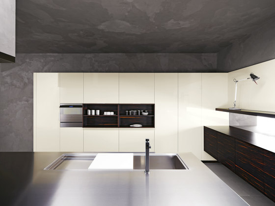 Elle | Composition 3 by Cesar Arredamenti | Fitted kitchens