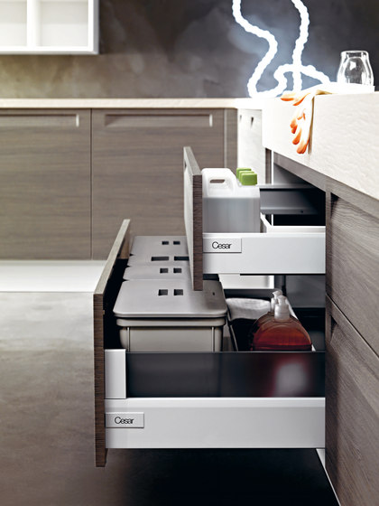 Frida | Composition 1 by Cesar Arredamenti | Fitted kitchens