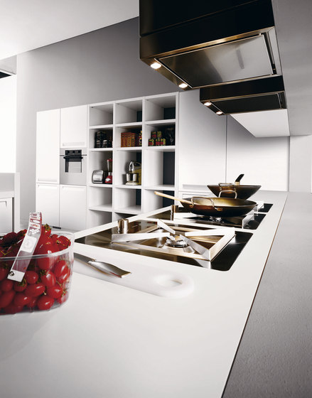 Frida | Composition 2 by Cesar Arredamenti | Fitted kitchens