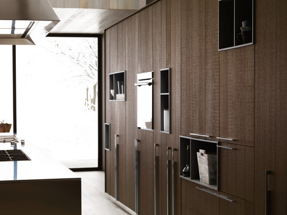 Kalea | Composition 1 by Cesar Arredamenti | Fitted kitchens