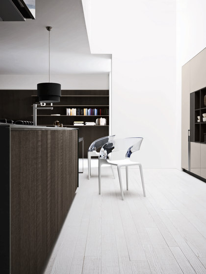 Kalea | Composition 3 by Cesar Arredamenti | Fitted kitchens