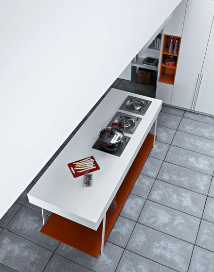 Kalea | Composition 5 by Cesar Arredamenti | Fitted kitchens
