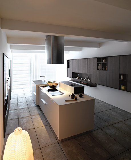 Kalea | Composition 6 by Cesar Arredamenti | Fitted kitchens