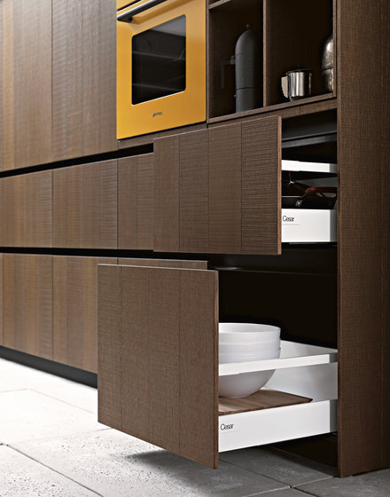 Kalea | Composition 8 by Cesar Arredamenti | Fitted kitchens