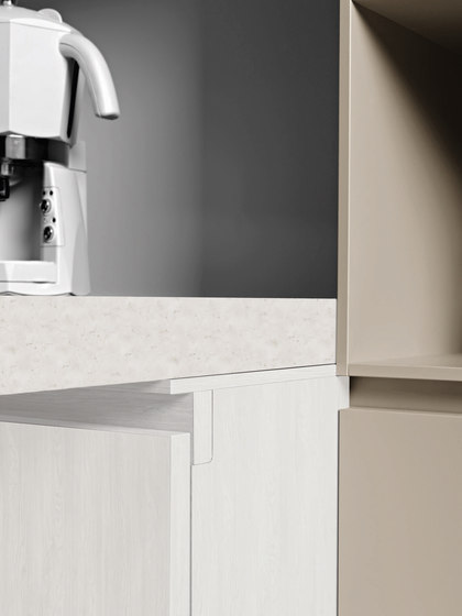 Kora | Composition 1 by Cesar Arredamenti | Fitted kitchens