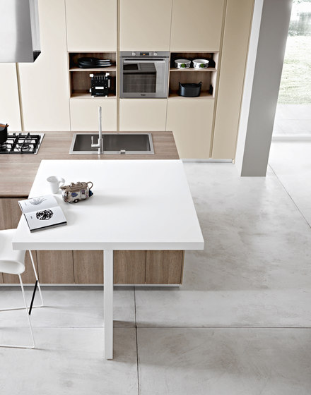 Kora | Composition 5 by Cesar Arredamenti | Fitted kitchens