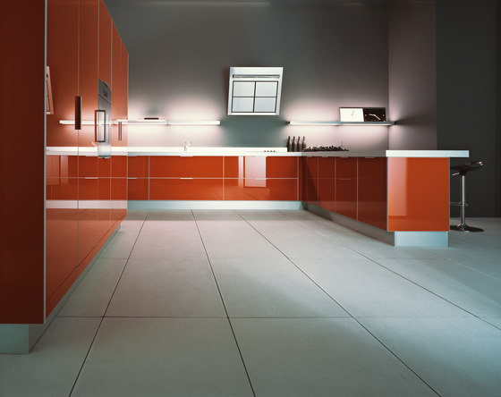 Luce | Composition 4 by Cesar Arredamenti | Fitted kitchens