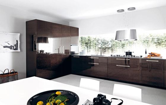 Lucrezia | Composizione 6 di Cesar Arredamenti | Cucine a parete