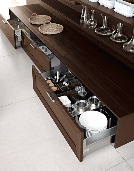 Noa | Composition 1 by Cesar Arredamenti | Fitted kitchens