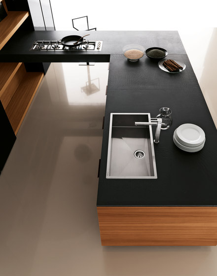 Yara | Composition 9 by Cesar Arredamenti | Fitted kitchens