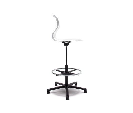 Pro 5 Star Base High by Flötotto | Counter stools