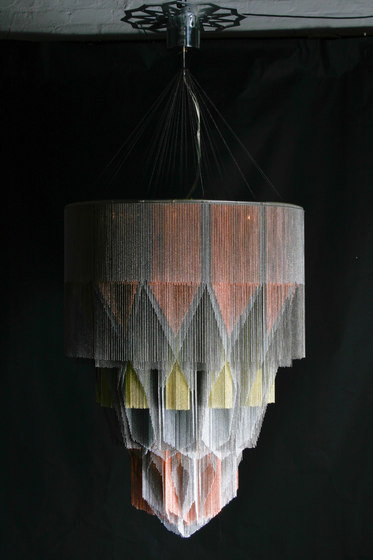 Mandala No.1 - 1000 - suspended by Willowlamp | Chandeliers