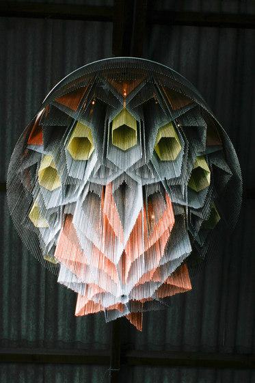 Mandala No.1 - 1000 - suspended de Willowlamp | Lámparas de araña