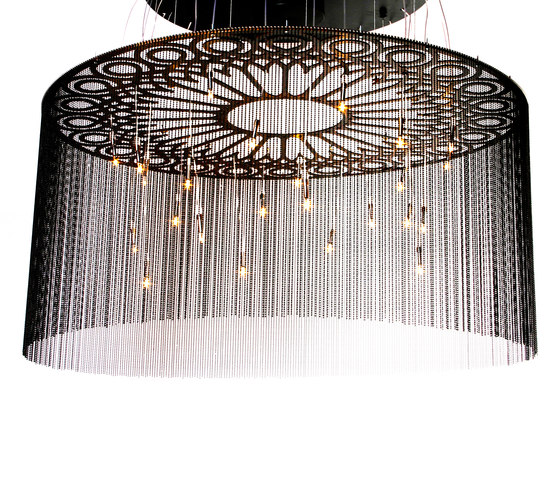 Ngoma Drum - 1000 - suspended by Willowlamp | Lighting objects