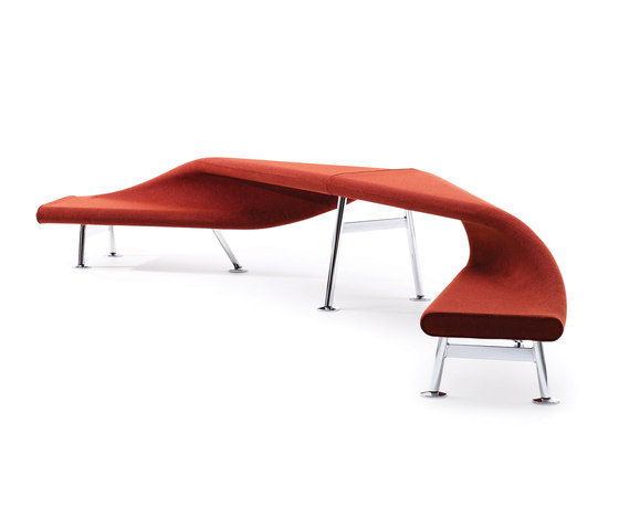 RBM Flip and Fold 45° by Flokk | Waiting area benches