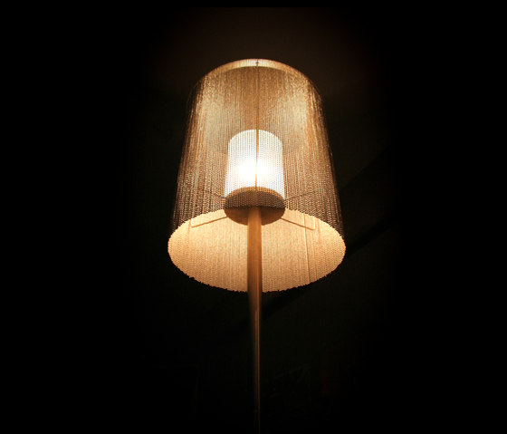 Circular Cropped 400 Table Lamp by Willowlamp   General lighting