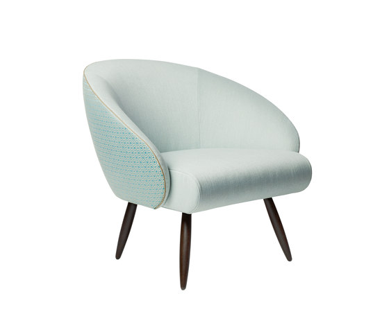 Club Chair di Zimmer + Rohde | Poltrone lounge