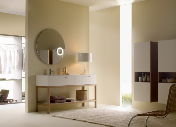 Bamboo mueble portalavabo de CODIS BATH | Lavabos mueble