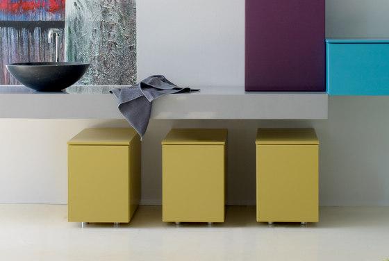 Basic wooden box by CODIS BATH | Laundry baskets