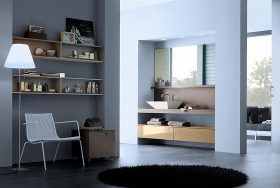 Dado shelves by CODIS BATH   Bath shelving