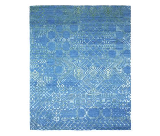 Squaredance - Squaredance blue by REUBER HENNING | Rugs / Designer rugs