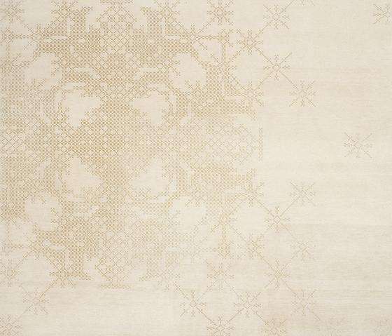 Squaredance - Satellite silver by REUBER HENNING | Rugs / Designer rugs