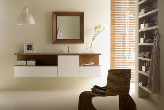 Basic mueble portalavabo de CODIS BATH | Armarios lavabo