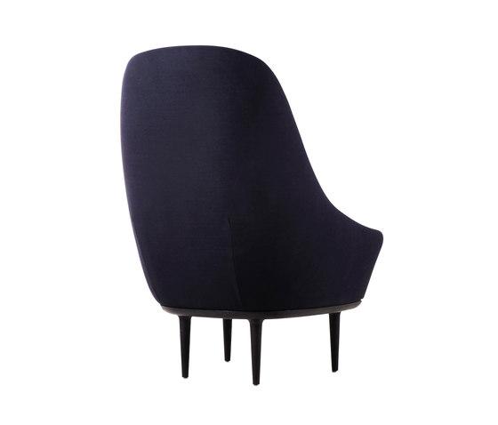Lunar Highback Chair By Stellar Works Lounge Chairs