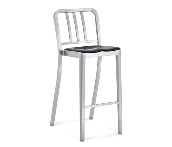 Heritage Stacking barstool seat pad by emeco | Counter stools