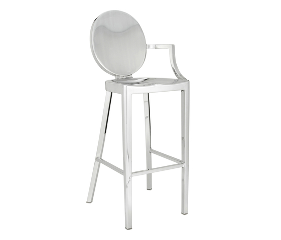 Kong Barstool with arms di emeco | Sgabelli bar