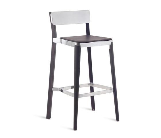 Lancaster Barstool seat pad by emeco | Bar stools