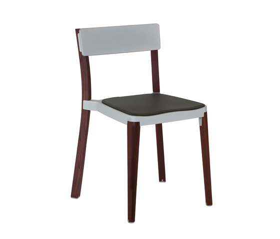 Lancaster Stacking chair seat pad by emeco | Restaurant chairs