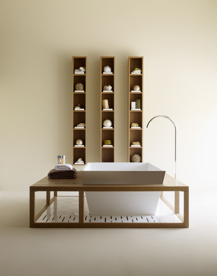 Dado shelves by CODIS BATH | Bath shelving