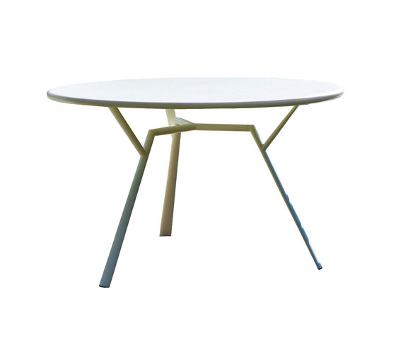 Radice Quadra table round by Fast | Restaurant tables