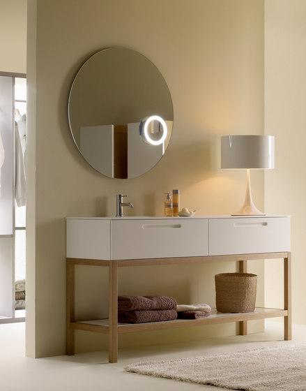 Round mirror von CODIS BATH | Wandspiegel